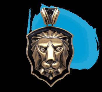 Кулон Лев
